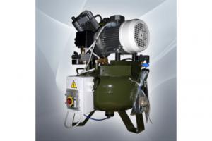 Cattani 75-240 - безмасляный компрессор, c осушителем, без кожуха, 238 л/мин, ресивер 75л